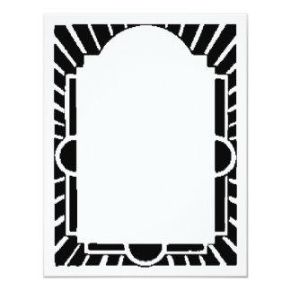 Art Deco Frame,Marquee Card