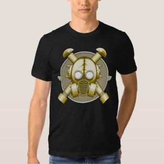 Art Deco Gasmask Tee Shirt