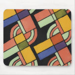 Art Deco Geometric Pattern - Mousepad