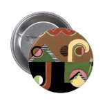Art Deco Geometrics Buttons