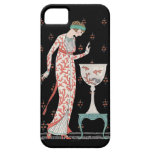 Art Deco George Barbier Goldfish iPhone 5 Case