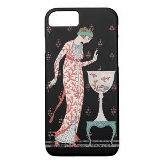 Art Deco George Barbier Goldfish iPhone 7 case
