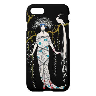 Art Deco George Barbier Peacock Vintage French iPhone 7 Case