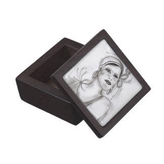 Art Deco Girl II Gift Box