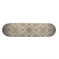 Art Deco Glamorous Great Gatsby Rhinestone Lace Skateboard