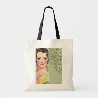 Art deco great gatsby Parisian fashionista Tote Bag