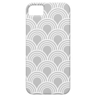 Art Deco Great Gatsby Style Mod Shell Pattern iPhone 5 Cases