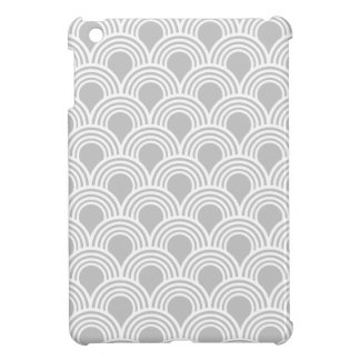 Art Deco Great Gatsby Style Mod Shell Pattern iPad Mini Cover