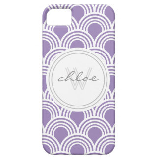 Art Deco Great Gatsby Style Shell Personalized iPhone 5 Covers