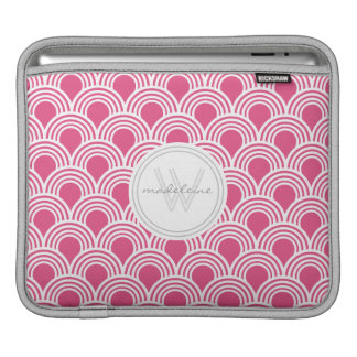 Art Deco Great Gatsby Style Shell Personalized Sleeves For iPads