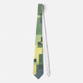 Art Deco Green Neck Tie
