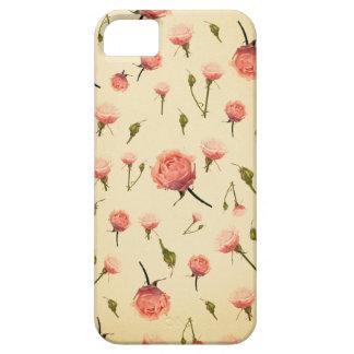 Art déco grisáceo femenino de los años 20 del rosa iPhone 5 Case-Mate protector