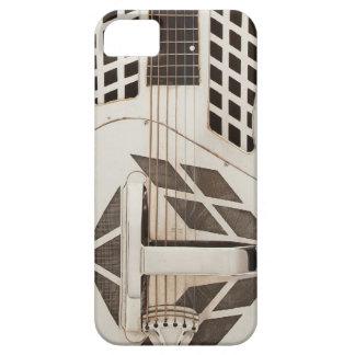 Art Deco Guitar Metal Steampunk Phone Case Vintage iPhone 5 Cover
