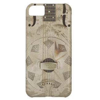 Art Deco Guitar Metal Steampunk Phone Case Vintage iPhone 5C Covers