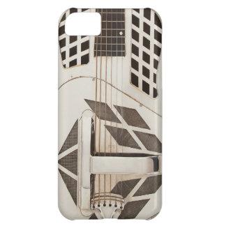 Art Deco Guitar Metal Steampunk Phone Case Vintage Case For iPhone 5C