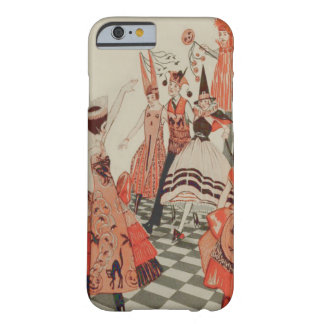 Art Deco Halloween Party Black Cat Pumpkin Barely There iPhone 6 Case