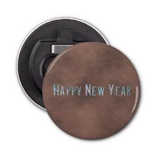 Art Deco Happy New Year Bottle Opener