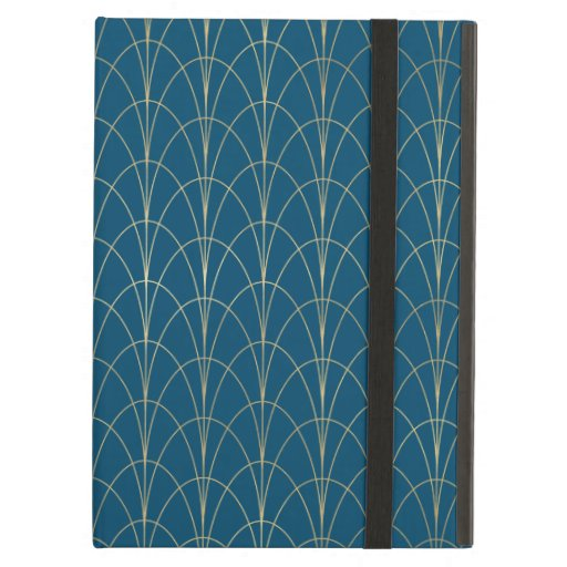 Art Deco In Blue Case For iPad Air