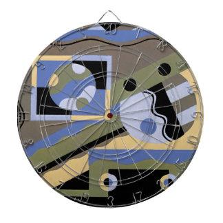 Art Deco in Blue Dart Boards