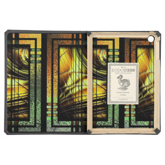Art Deco In Green And Gold iPad Air Case