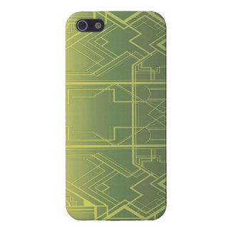 Art Deco (in Green) iPhone Case