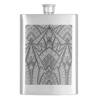 Art Deco Inspired Flask