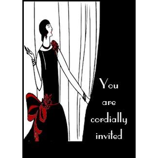 Art Deco Invitation invitation
