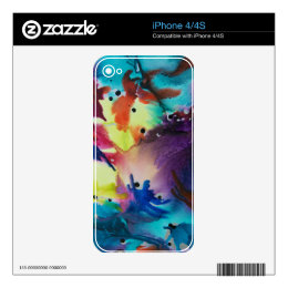 Art Deco iPhone 4 Skin