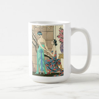 Art Deco Ladies By the Window Mug