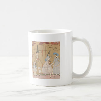 Art Deco Ladies – Playing with the girls in the ga Coffee Mug