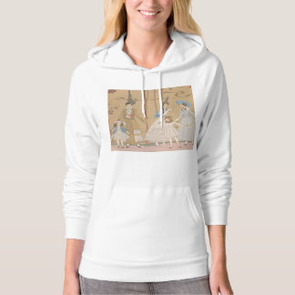 Art Deco Ladies – Playing with the girls in the ga Hoodie