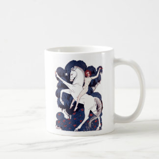 Art Deco Lady Godiva Coffee Mug