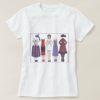 Art Deco Lady of the 1920s Paper Doll T-Shirt