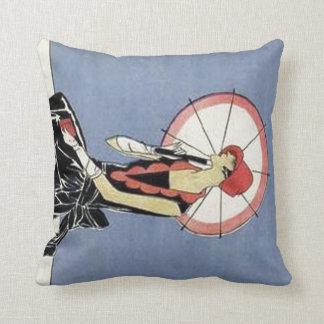 Art Deco Lady Pillow
