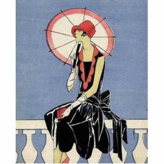 Art Deco Lady Statuette