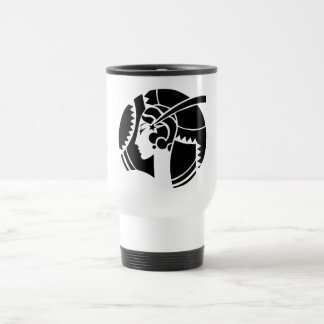 Art Deco Lady Travel Mug