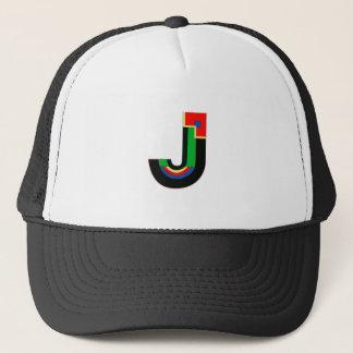 Art Deco Letter J Trucker Hat