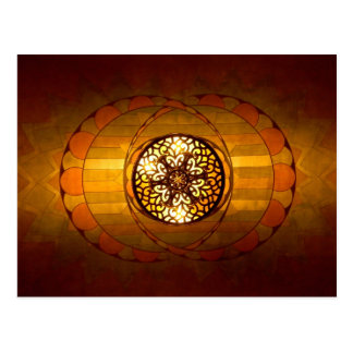 Art Deco Lighting Postcard