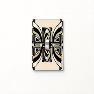 Art Deco Lightswitch Cover