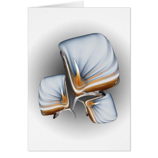 Art Deco Lillies Card