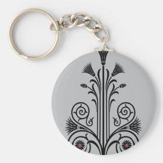 Art Deco Lotus (Egyptian) Keychain