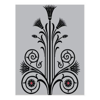 Art Deco Lotus (Egyptian) Postcard