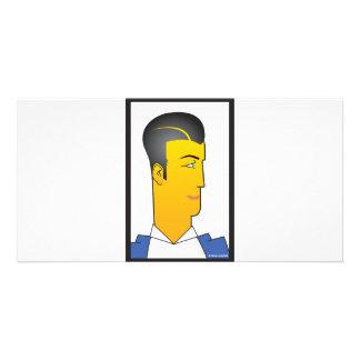 Art Deco Man Card
