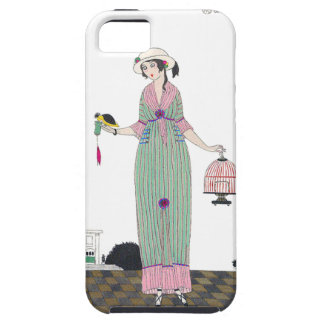 Art Deco Martin French Fashion Plate iPhone4 Case iPhone 5 Cover