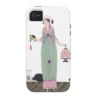 Art Deco Martin French Fashion Plate iPhone4 Case iPhone 4 Cases