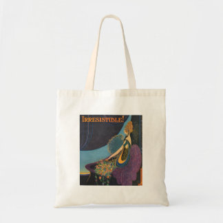 Art Deco Mavis Perfume Advertisement Budget Tote Bag