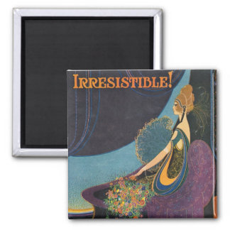 Art Deco Mavis Perfume Advertisement Refrigerator Magnets