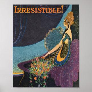 Art Deco Mavis Perfume Advertisement Poster