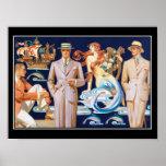 Art Deco Mens Fashion Vintage Poster