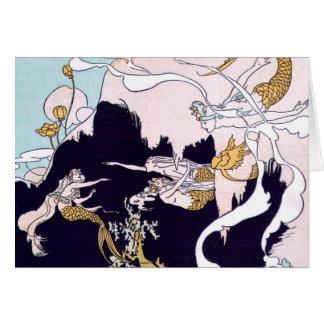 Art Deco Mermaids Cards
